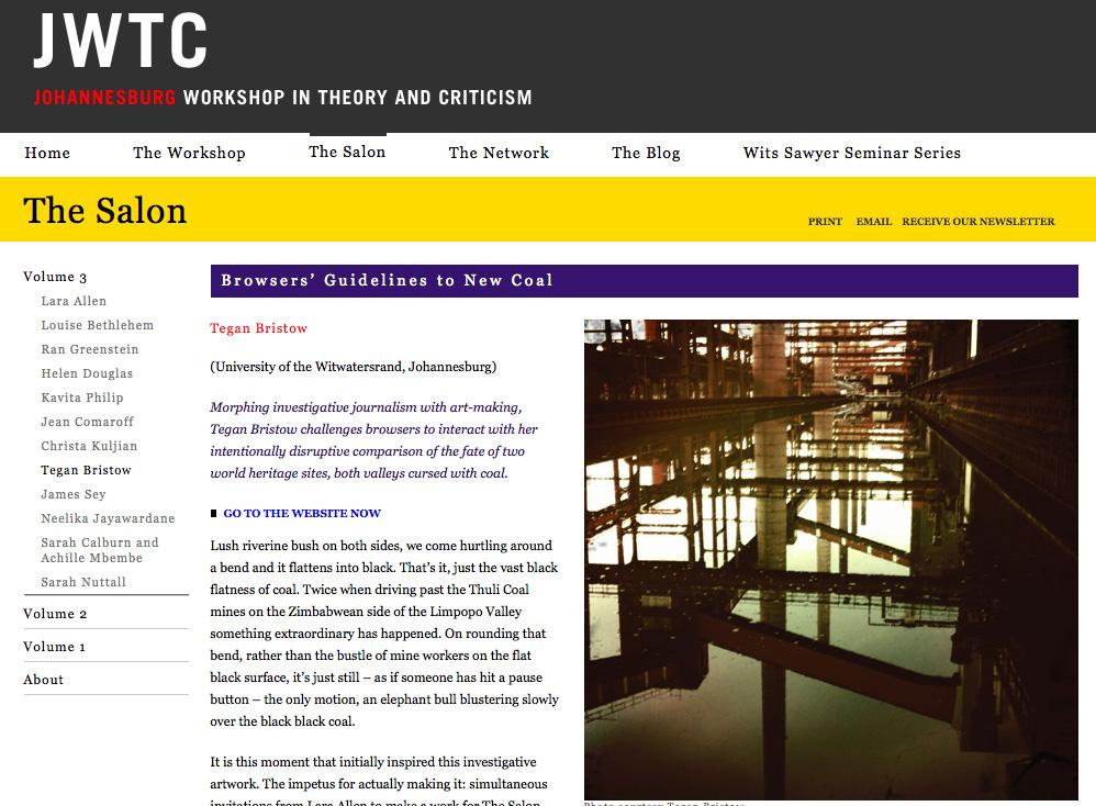 JWTC – New Coal